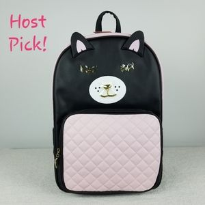 Betsey Johnson Cat Backpack NWT